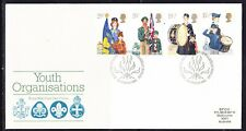 Great Britain 1982 Youth Organisations First Day Cover - 212b to Australia