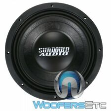 "SUNDOWN AUDIO SD-4 12 D2 12"" 600W RMS DUAL 2-OHM SHALLOW SUBWOOFER SPEAKER NEW"