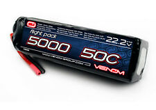 Venom 15048 50C 6S 5000mAh 22.2 LiPO Battery T-REX 550 600 700 800