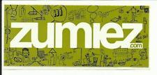 """Zumiez sticker 1.5"""" X 3.5"""""""