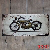Metal Tin Sign vintage moto Decor Bar Pub Home Vintage Retro Poster Cafe ART