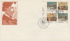 Canada #733-734 12¢ Tom Thomson LL Plate Block First Day Cover