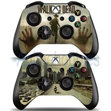 The Walking Dead TWD Vinyl Decal Skin Stickers for Xbox One 2 Controllers Skin