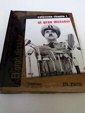 """DVD """"EL GRAN DICTADOR"""" DVD LIBRO DIGIBOOK CHARLES CHAPLIN PRECINTADO SEALED"""