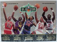 1992-93 Fleer Ultra NBA Jam Session Michael Jordan, Pippen, Malone, Parish #NNO