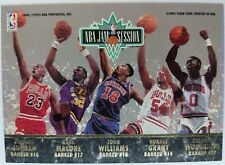 1992-93 Fleer Ultra NBA Jam Session Michael Jordan, Pippen, Malone, Parish #NNO