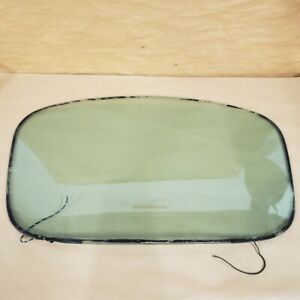 Jaguar XKE E-Type FHC Original Rear Hatch Window Triplex Heated Glass OEM