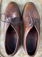 Sperry Top-Sider Wingtip Brown Leather Shoes Mens Size 11 M Dress Casual Classic