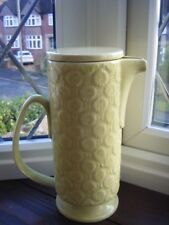 ARTHUR WOOD RETRO LIDDED JUG OR COFFEE POT PALE LIME IN COLOUR