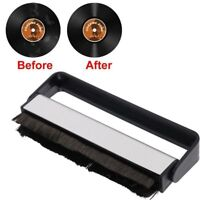 Hanging Type Carbon Fiber Vinyl Record leaning Cleaner Anti Static Dust Brush,
