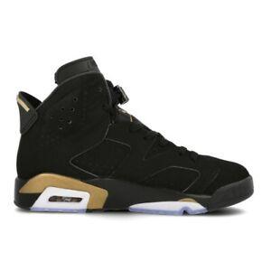 2020 Nike Air Jordan 6 Retro DMP Black Metallic Gold CT4954 007 GS