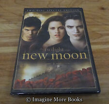 NEW/SEALED DVD: New Moon (2-Disc, Special Edition)~Second Movie in Twilight Saga