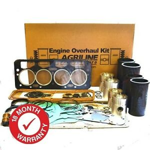ENGINE OVERHAUL KIT FOR LEYLAND 270 272 282 472 482 702 704 WITH 4/98TT ENGINE.