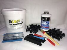 Tyre Fitting Kit,Paste,Bead Sealer,Sitck On Weights,TR414 & TR418 Free Black SOW