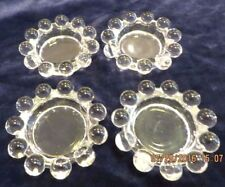 """Imperial Candlewick  - Set of 4 Dippers Salts - 2 1/2"""""""