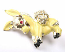 Animals Enamel Vintage Costume Brooches/Pins (1950s)