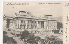 South Africa, Parliament House Capetown 1905 Postcard, B245