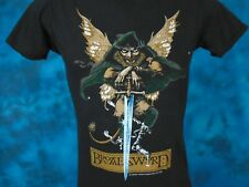 vintage 80s JETHRO TULL BROAD SWORD & THE BEAST CONCERT T-Shirt XS rock tour