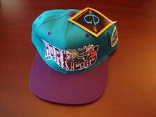 CHARLOTTE HORNETS G-CAP  BIG LOGO  SPLASH SCRIPT VINTAGE 90'S HAT CAP  SNAPBACK