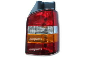 VW Transporter T5 Rear Back Tail Light Lens Lamp 2003 – 2010 Right O/S Orange