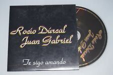 ROCIO DULCAL & JUAN GABRIEL - TE SIGO AMANDO. CD-SINGLE PROMO SPANISH