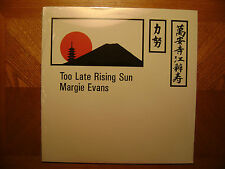 *FACTORY SEALED*MARVIC LP RECORD/ MARGIE EVANS/ TOO LATE RISING SUN/ SOUL/BLUES