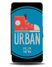 Urban Trainer Flip Wallet Phone Case Shoe Trainers Retro Sneakers American E323