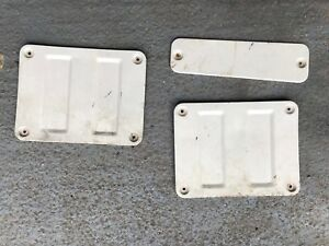 Subaru Brat Brumby 284 MV (1978-1994) O/S Right Load Bed Inspection Plate Covers