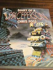 Diary of a Spaceperson Chris Foss Great Britian Paper Tiger space erotic