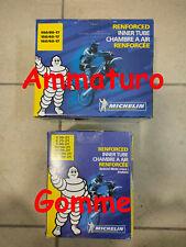 Coppia Camera D'aria Michelin 90/90 21 MDR 140/80 17 MHR rinforzata Cross camere