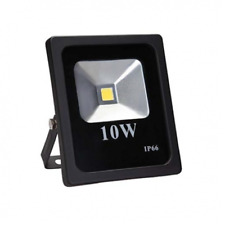 Phare LED Noir 10w Dc 12v 24v 10watt Mince Projecteur IP66 Pour L'Extérieur