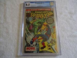 MARVEL AMAZING SPIDER-MAN 120 CGC 8.5 IRON MAN AVENGERS HULK THOR ANT-MAN MCU