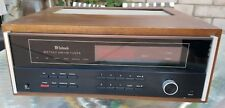 Mcintosh MR7082 Stereo FM AM Tuner with Wooden Cabinet