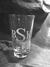4 Heavy Bottomed Pint Glass w/ custom engraving included