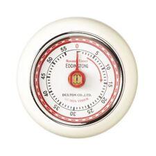 Eddingtons Magnetic Retro Style Kitchen Timer - Ivory Timer 55min Countdown