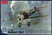 Nieuport 28C1 1/48 403 scale model for assembly (Roden)