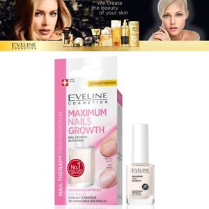 Eveline Cosmetics Spa Nail Conditioner Maximum Nails Growth Therapy - 12ml