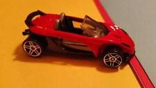 RARE LOTUS ELISE 340R - RED and BLACK - 5 SPOKE RIMS * 2001 * HOT WHEELS * OPEN