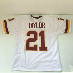 UNSIGNED CUSTOM Sewn Stitched Sean Taylor White Jersey - M, L, XL, 2XL