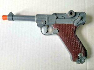 Vintage MARX Toys 1253 Ku 53 PO  Plastic Toy WWII German Luger Cap Gun
