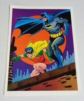 Rare original 1978 Batman Robin DC Detective Comics poster 1:Infantino art/1970s