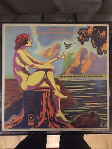 Iron Butterfly. Metamorphosis. UK 1st Press. 2401003. Vinyl Very Nice