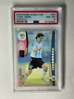 2006 Panini Soccer World Cup #47 Lionel Messi Germany PSA 8 GOAT 🐐 📈