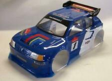0153 Peugeot 205 Turbo 1/8 GT 325mm body Clear Hobao Serpent Cobra Traxxas Slash