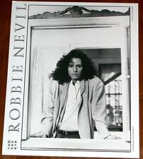 Rare Robbie Nevil 8x10 B&W Press Photo Manhattan Records 1987