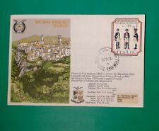 Flown First Day Cover - Italian Flown By HS Andover 46 Squadron