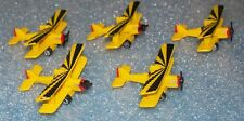 Lot of 5  Micro Machines SE-5a Biplane miniature  NEW