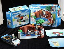 Playmobil 4462 4464 Penguin Basin Seal Car Aquarium Set Show Playset Water Box
