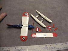 Vintage Curtiss R2C-2 Racing SeaplanePlastic Model,Dolittle? FOR PARTS DAMAGED