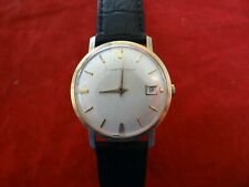 Vintage Girard Perregaux Gold Capped Manual Wind Dress Watch With Date